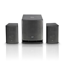 LD Systems DAVE 15 G3 Pro Powered 2.1 Active PA Speaker System 2800W w/ DSP