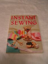 INSTANT SEWING ~ Guide shows you how to sew it today and wear it tomorrow