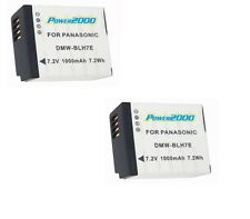 TWO 2X Batteries DMW-BLH7 DMW-BLH7PP DMW-BLH7E DMW-BLH7GK for Panasonic DMC-GM1