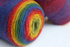 Gradient rainbow wool yarn 100% - Super Fine/Sock,knitting wool