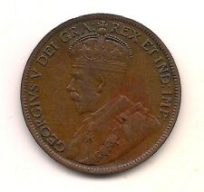 1914  Canada Large Cent-Milk Chocolate with Strong Crown Detail !!