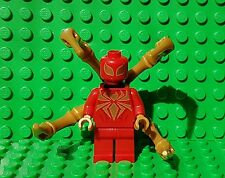 LEGO SUPERHEROES - Iron Spiderman Minifigure - Split From 76037