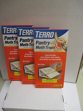 Pantry Moth Traps - ( 3 )-2pks. Grain,Flour,Meal,and Seed Moths,Traps and kills