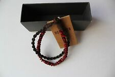 NWT Hollister By Abercrombie & Fitch AF Men's Bracelet New (Red, Blue) HCO