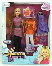 Disney Hannah Montana 3 Outfits Barbie-style Doll Toys R Us Exclusive 2010