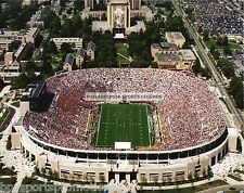NOTRE DAME FIGHTING IRISH FOOTBALL STADIUM W/TOUCHDOWN JESUS NATIONAL CHAMPS #1