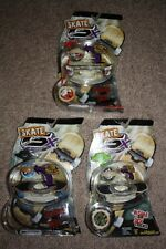 NEW set of 3 SKATE GX RACERS skateboards gyro rip cord deck plate AIR TRICKS toy