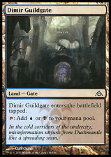 MTG DIMIR GUILDGATE FOIL EXC - CANCELLO DELLA GILDA DIMIR - DGM - MAGIC