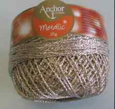 ANCHOR ARTISTE Metallic Thread 25g Sewing Embroidery Knitting Crochet - PL GOLD