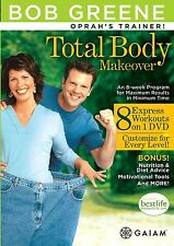 Total Body MakeOver 8-week Program For Max Results w/Min. Time by Bob Greene DVD