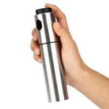 Silver Stainless Steel Spray Pump Mist Olive Bottle Oil Sprayer Pot 135ml AUS