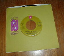 "THREE DEGREES Orig 1974 ""When Will I See You Again"" 45 UNPLAYED NM-"