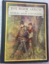 1933 THE BLACK ARROW by Robert Louis Stevenson, Illustrated by N.C. Wyeth