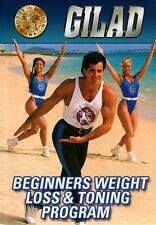 GILAD BODIES IN MOTION HAWAII BEGINNERS WEIGHT LOSS AND TONING PROGRAM New DVD