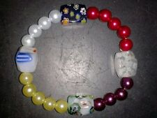 BEAUTIFUL BRACELET BEADS - MULTI-COLORED - (37)