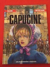 CAPUCINE FILS DE L'AIGLE FAURE VAXELAIRE HUMANOÏDES ASSOCIÉS  BD BANDE DESSINÉE