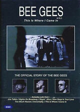 Bee Gees: This Is Where I Came in DVD *NEW