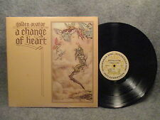 33 RPM LP Record Golden Avatar A Change Of Heart 1976 Sudarshan Disc SD-1 VG+