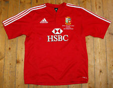 BRITISH LIONS 2009 Tour Rugby Union MATCH DETAIL EMBROIDERY AWAY Shirt Jersey L