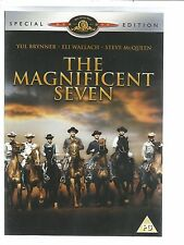 THE MAGNIFICENT SEVEN - SPECIAL EDITION - UK REGION 2 DVD