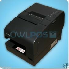 Epson TM-H2000 Multifunction POS Receipt Printer M255A Dark Gray Serial USB MICR