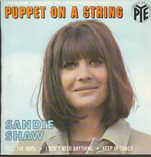 6059 SANDIE SHAW  PUPPET ON A STRING