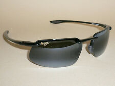 Brand NEW Authentic  Polarized  MAUI JIM KANAHA  Sunglasses  Black Frame 409-02
