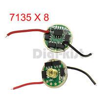 CREE 10W XML T6 U2 XM-L2 LED Flashlight Driver 2.8A Constant Current 7135X8 AMC