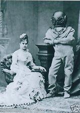 Victorien steampunk plongée plongeur casque sarah bernhardt ocean gothique