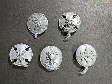 Warhammer 40k Space Wolves Wulfen x5 Storm Shield Bits
