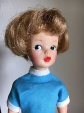 VINTAGE IDEAL TAMMY DOLL BS-12 HIGH COLOR MAKEUP BLONDE HAIR BONUS OUTFITS EXC!