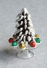 Dolls house miniatures: candy Christmas tree