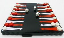 Classic Vintage Backgammon Dice & Counter Travel Family magnetic Board Game Set