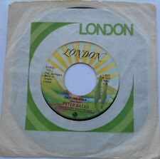 PETER BATAH Crazy love affair NM- CANADA 1977 DISCO FUNK LONDON 45 LISTEN!!!