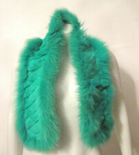 $325 ETRO Milano trimmed lapin and fox fur scarf FUN New with tag
