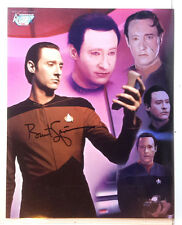 Star Trek:NG Autograph 8x10 Color Photo-Signed by Brent Spiner (EBAU-1354)