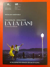 Ryan Gosling Emma Stone - La La Land - Polish promo FLYER