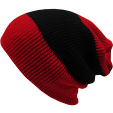 Men's Women Winter Knit Crochet Slouch Ski Cap Beanie Knitting Wool Warm Hat