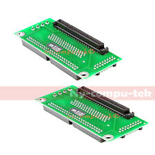 2pcs SCSI SCA 80 TO 68 50 PIN SCSI Adapter SCA 80 PIN TO SCSI 68 IDE 50 ADAPTER