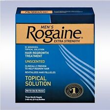 ROGAINE MEN'S TOPICAL SOLUTION (3 MONTHS) 5% extra strength SAME AS REGAINE