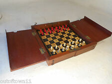 Antico Viaggio in Miniatura Set di scacchi