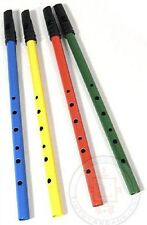 Classic Tin Penny Whistle Flute 6 Hole Irish by Schylling