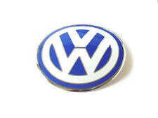 Front Hood Emblem Badge Blue & White Euro For VW New Beetle 98-05 1C085361739A