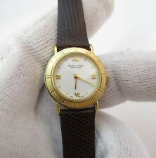 "SOLVIL TITUS SONVILIER ""Roman White Face"",Lizard Band LADIES WATCH,786,L@@K!"