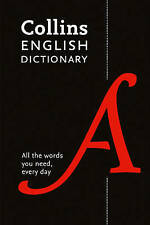 Collins English Dictionary by Collins Dictionaries (Paperback, 2015)