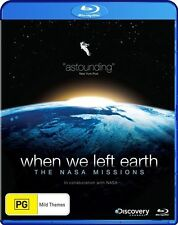 When We Left Earth - The NASA Missions (Blu-ray, 2009, 4-Disc Set) - Region B