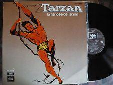 TARZAN volume 2 LA FIANCEE DE TARZAN - LP 33T VINYLE EMI C06211552