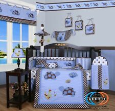 Baby Boutique Sea Turtle 13PCS Nursery CRIB BEDDING SET