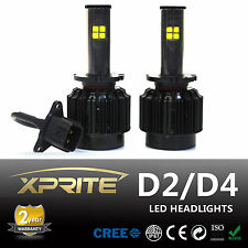 D2 80W 7200LM Cree LED Headlight Conversion Kit -Replaces Halogen or HID Bulbs