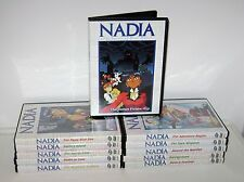 Nadia: The Secret of Blue Water, Complete Anime Series, 10 TV DVD Set Lot+ Movie